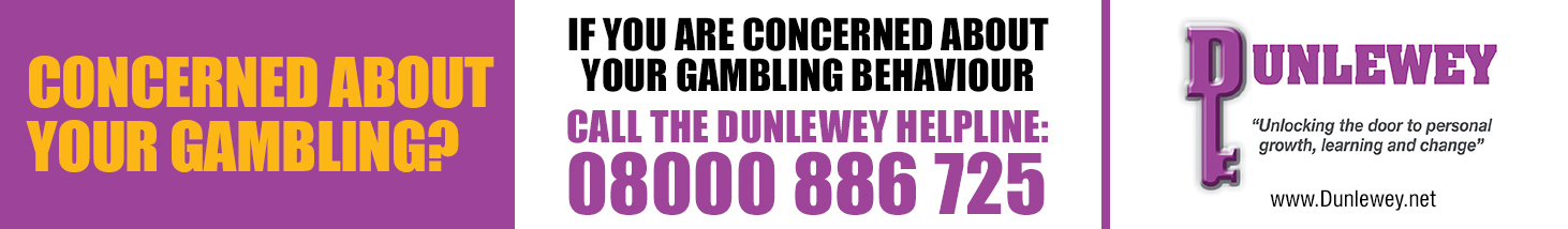 Please click here for more information about responsible gambling and the help that is available